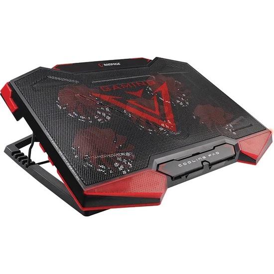 Addison Rampage AD-RC5 Siyah 5 Fan laptop soğutucu