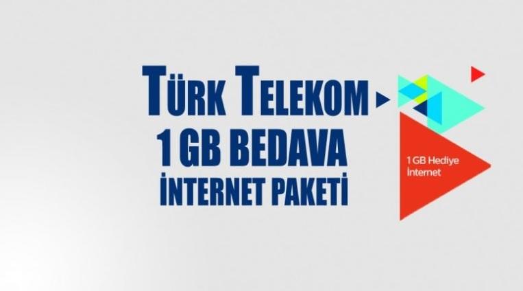 türk telekom bedava internet kazanma